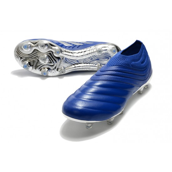 Adidas Copa 20+ FG Blue Silver 39-45