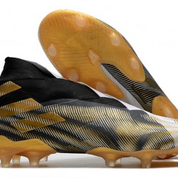 Adidas Nemeziz 19+ FG Black Gold White 39-45