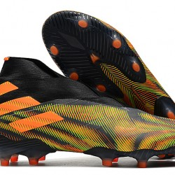 Adidas Nemeziz 19+ FG Black Orange Green 39-45