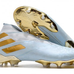 Adidas Nemeziz 19+ FG Blue White Gold 39-45