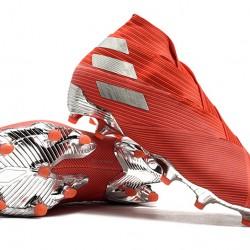 Adidas Nemeziz 19+ FG Red Silver 39-45