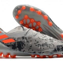 Adidas Nemeziz 19.1 AG Grey Black Orange 39-45