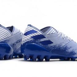 Adidas Nemeziz 19.1 AG White Blue 39-45