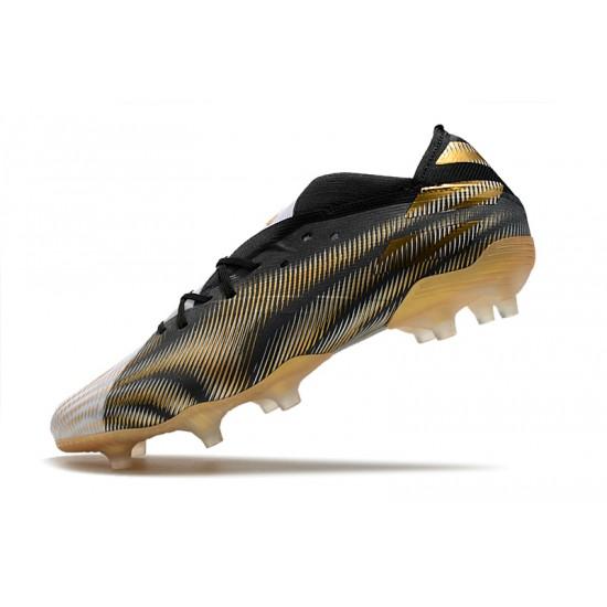 Adidas Nemeziz 19.1 FG Black Gold White 39-45