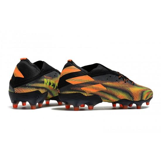 Adidas Nemeziz 19.1 FG Black Orange Green 39-45