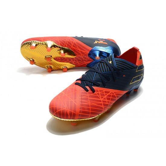Adidas Nemeziz 19.1 FG Black Red Blue 39-45