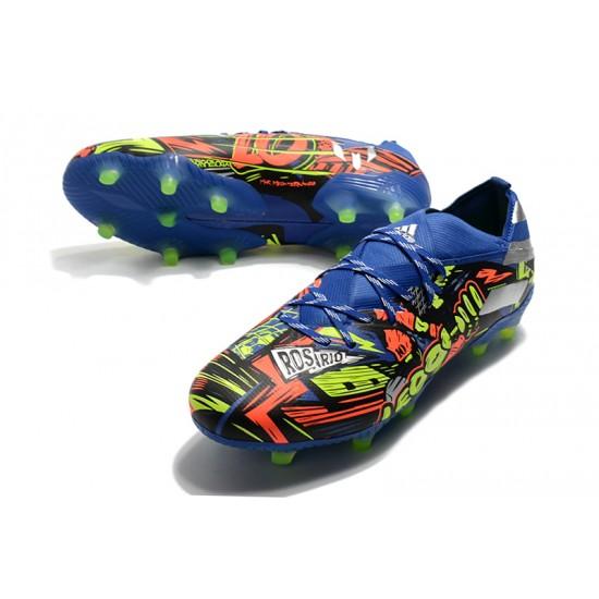 Adidas Nemeziz 19.1 FG Blue Orange Green 39-45