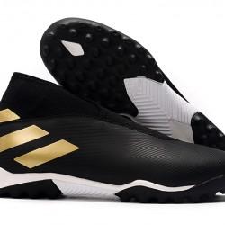 Adidas Nemeziz 19.3 Laceless TF Black Gold 39-45
