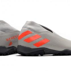 Adidas Nemeziz 19.3 Laceless TF Grey Orange 39-45