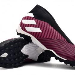 Adidas Nemeziz 19.3 Laceless TF Pink Black White 39-45