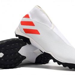 Adidas Nemeziz 19.3 Laceless TF White Orange 39-45