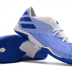 Adidas Nemeziz Messi 19.3 IC White Blue 39-45