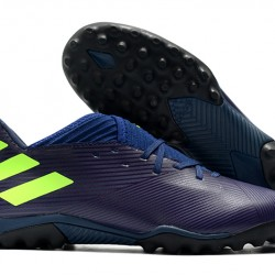 Adidas Nemeziz Messi 19.3 TF Blue Green 39-45