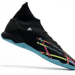 Adidas Predator 20.3 IC Black Blue 39-45