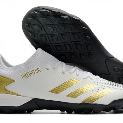 Adidas Predator 20.3 L TF White Gold Black 39-45