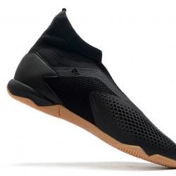 Adidas Predator 20.3 Laceless IN Black Brown 39-45