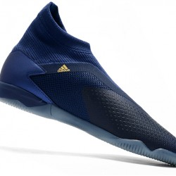 Adidas Predator 20.3 Laceless IN Blue Gold 39-45
