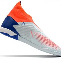 Adidas Predator 20.3 Laceless IN Blue Orange White 39-45