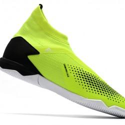 Adidas Predator 20.3 Laceless IN Green Black 39-45