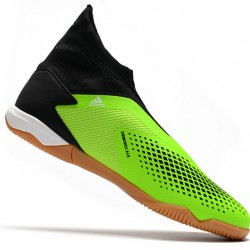 Adidas Predator 20.3 Laceless IN Green Black White 39-45