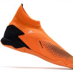 Adidas Predator 20.3 Laceless IN Orange Black 39-45