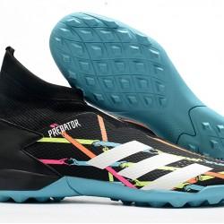 Adidas Predator 20.3 Laceless TF Black Blue White 39-45