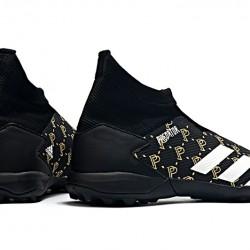Adidas Predator 20.3 Laceless TF Black Gold White 39-45