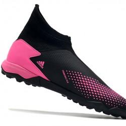 Adidas Predator 20.3 Laceless TF Black Pink 39-45