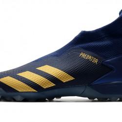 Adidas Predator 20.3 Laceless TF Blue Gold 39-45