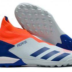 Adidas Predator 20.3 Laceless TF Blue Orange White 39-45