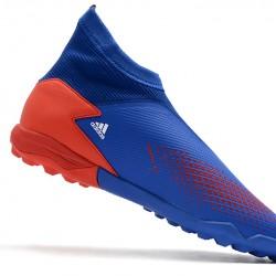 Adidas Predator 20.3 Laceless TF Blue Red White 39-45