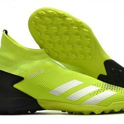 Adidas Predator 20.3 Laceless TF Green Black Silver 39-45