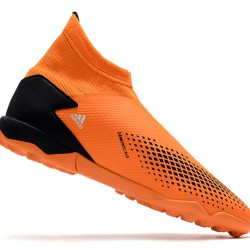 Adidas Predator 20.3 Laceless TF Orange Black Grey 39-45