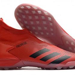 Adidas Predator 20.3 Laceless TF Red Black 39-45