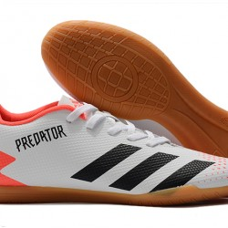 Adidas Predator 20.4 IN White Pink Black 39-45