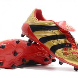Adidas Predator Accelerator FG Gold Black Red 39-45
