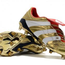 Adidas Predator Accelerator FG Gold White Gold 39-45