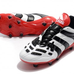 Adidas Predator Accelerator FG White Black Red 39-45