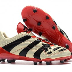 Adidas Predator Accelerator FG White Red Black 39-45