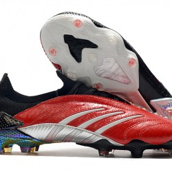 Adidas Predator Archive Limited Edition FG Black Red Silver 39-45