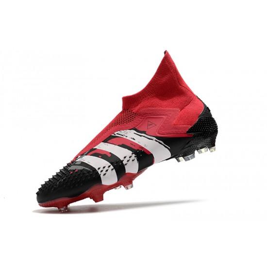 Adidas Predator Mutator 20+ FG Black Red White 39-45