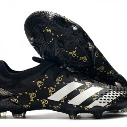 Adidas Predator Mutator 20.1 Low FG Black Gold Silver 39-45