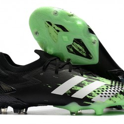 Adidas Predator Mutator 20.1 Low FG Black Green Silver 39-45