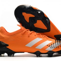 Adidas Predator Mutator 20.1 Low FG Orange Black Silver 39-45