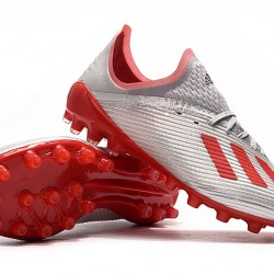 Adidas X 19.1 AG Silver Red 39-45