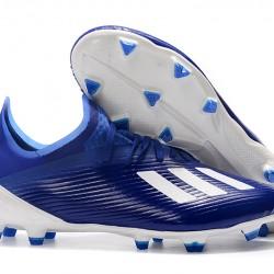Adidas X 19.1 FG Blue Silver 39-45