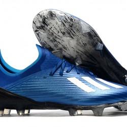 Adidas X 19.1 FG Blue White 39-45