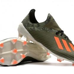 Adidas X 19.1 FG Green Orange 39-45