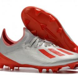 Adidas X 19.1 FG Silver Red 39-45
