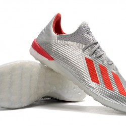 Adidas X 19.1 IC Silver Red 39-45